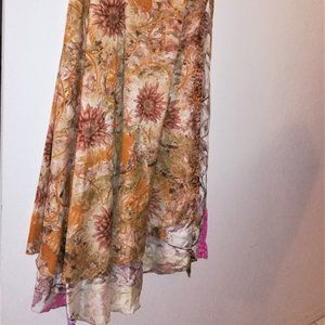 DGY Recycled Silk Sari Godess Ankle 26W Reversible